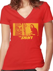 The Shiny Women's Fitted V-Neck T-Shirt