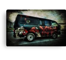 Wicked Van Canvas Print