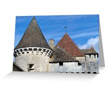 Four Roofs Greeting Card