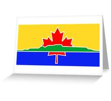 Flag of Thunder Bay  Greeting Card