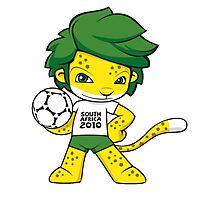 zakumi world cup Photographic Print