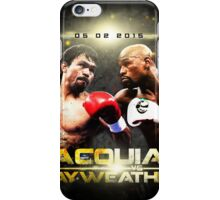 pacquiao vs mayweather V2.0 iPhone Case/Skin