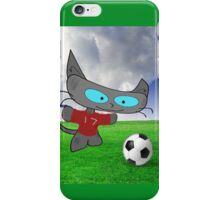 Cat Soccer Star iPhone Case/Skin