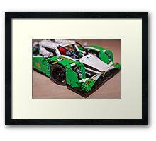 Lemans Race car Framed Print