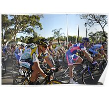 Lance Armstrong, Tour Down Under 2009. Poster
