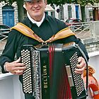 Squeeze Box Busker by phil decocco