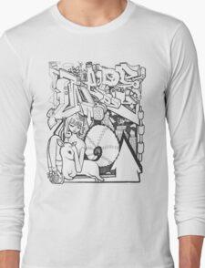Blackbook Sketching 2 Long Sleeve T-Shirt
