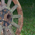 Rusty Wheel by kris-lou