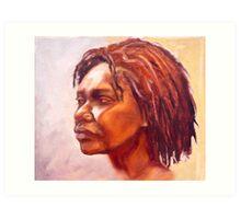 Portrait of Kuntamare Art Print