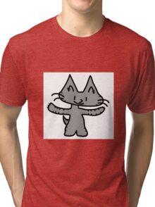 Big Hug Kitten Tri-blend T-Shirt