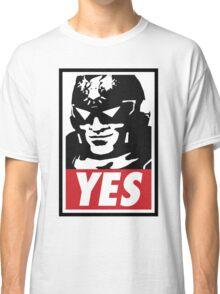 """YES!"" Classic T-Shirt"