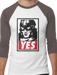 """YES!"" Men's Baseball ¾ T-Shirt"