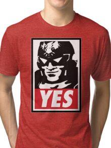 """""""YES!"""" Tri-blend T-Shirt"""