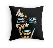 The Manical Dr Meister Throw Pillow