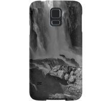 Iguazu Falls in Monochrome Samsung Galaxy Case/Skin