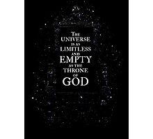 Throne of God Photographic Print