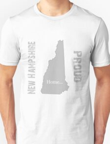 New Hampshire Proud Home Tee T-Shirt
