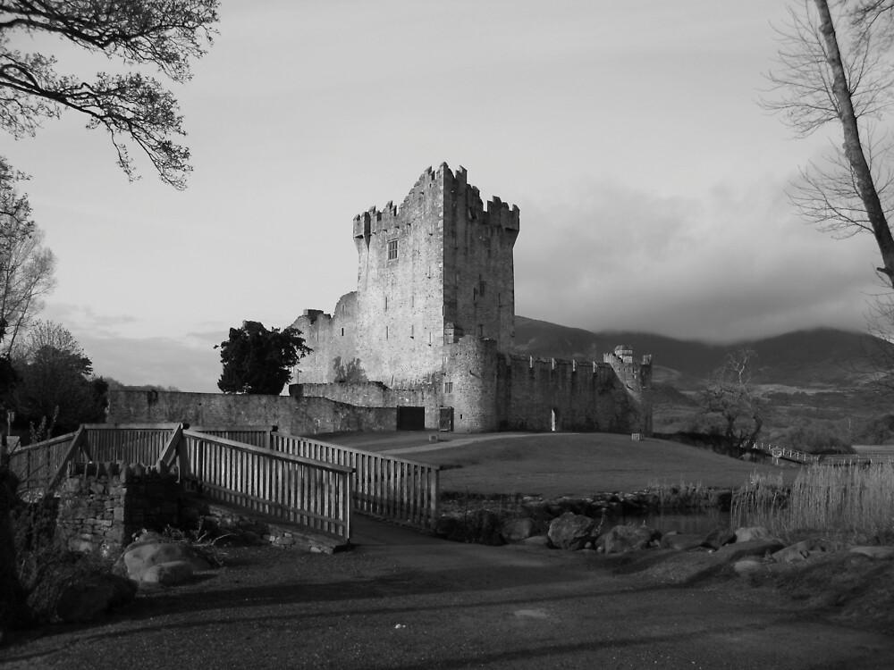 Ross Castle black and white by John Quinn