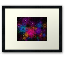 Flowers That Sparkle Framed Print