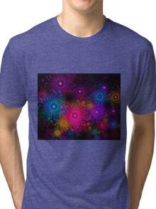 Flowers That Sparkle Tri-blend T-Shirt