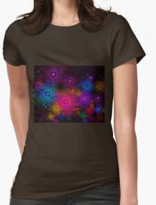 Flowers That Sparkle Womens Fitted T-Shirt