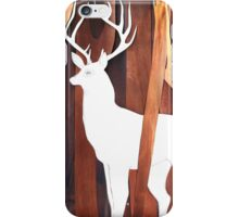 White Deer iPhone Case/Skin