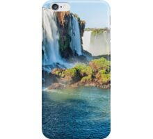 Iguazu Falls - a wider view iPhone Case/Skin
