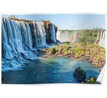 Iguazu Falls - a wider view Poster