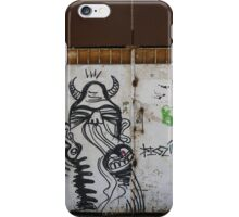 The city of the monsters - Street art iPhone Case/Skin