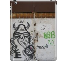 The city of the monsters - Street art iPad Case/Skin