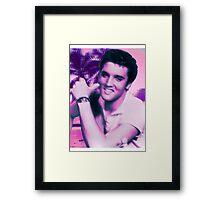 Elvis the Trap God Framed Print