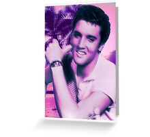 Elvis the Trap God Greeting Card