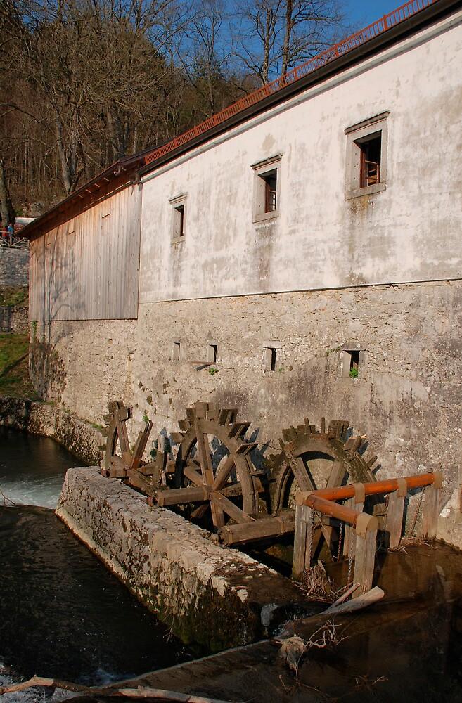 Slovenian Mill by jojobob