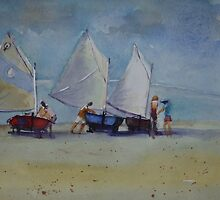 """Optimist"" dinghies by ColinWilliams"