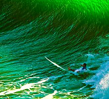 "WiPE OUT ona GreenWave  by Phineous ""Flash""   Cassidy"