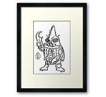 Daikaiju Rook Framed Print