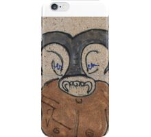 The Minotaur - Street art iPhone Case/Skin
