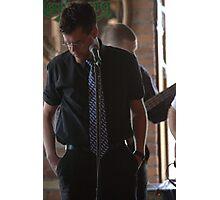 One Blad Tire - Brent Johnson, Vocals Photographic Print