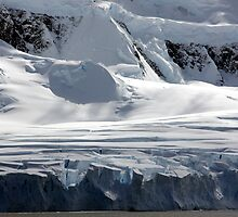 Antarctic glaciers by Michelle Dry