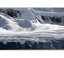 Antarctic glaciers Photographic Print