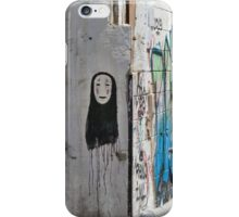 The Ghost - Street art iPhone Case/Skin