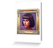 Portrait of Sharni Greeting Card