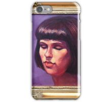 Portrait of Sharni iPhone Case/Skin