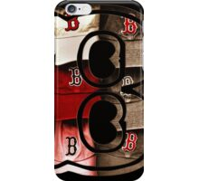 Sepia Boston Red Sox Logo with the Letter B iPhone Case/Skin