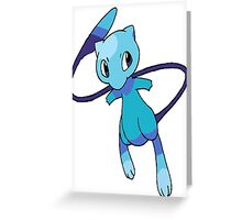 Shiny Mew Greeting Card