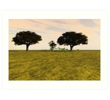 Tranquil Meadow Art Print