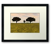 Tranquil Meadow Framed Print