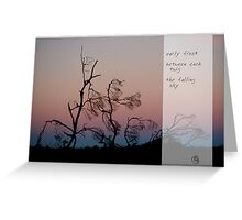 Early Frost Greeting Card