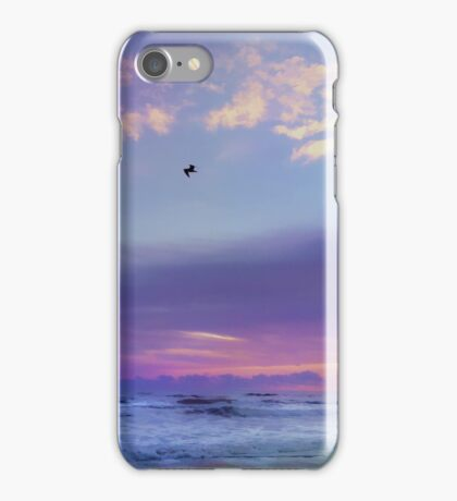 Florida Sunrise - New Smyrna Beach iPhone Case/Skin