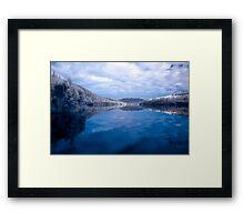 Reflections of Tullah Framed Print